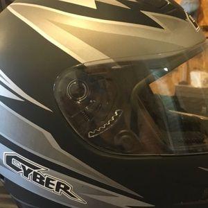 Cyber full-face shield Motorcycle Helmet